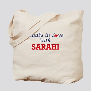 Madly in Love with Sarahi Tote Bag